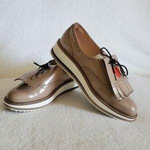 Zara Heart Platform Shoes
